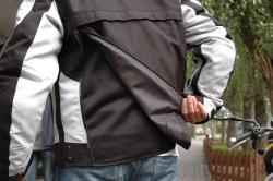 wypinany panel na plecach Kurtka Ixon Revolution Fever