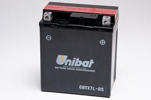 Unibat CBTX7L-BS akumulator motocyklowy
