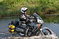 Honda W wodzie