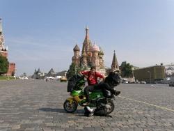 Moskwa na skuterze