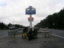 dojazd do Minska
