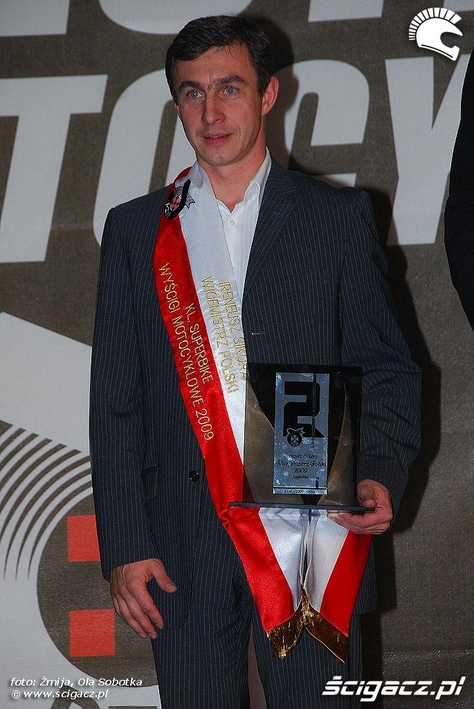 Irek Sikora Wicemistrz Polski Superbike 2009