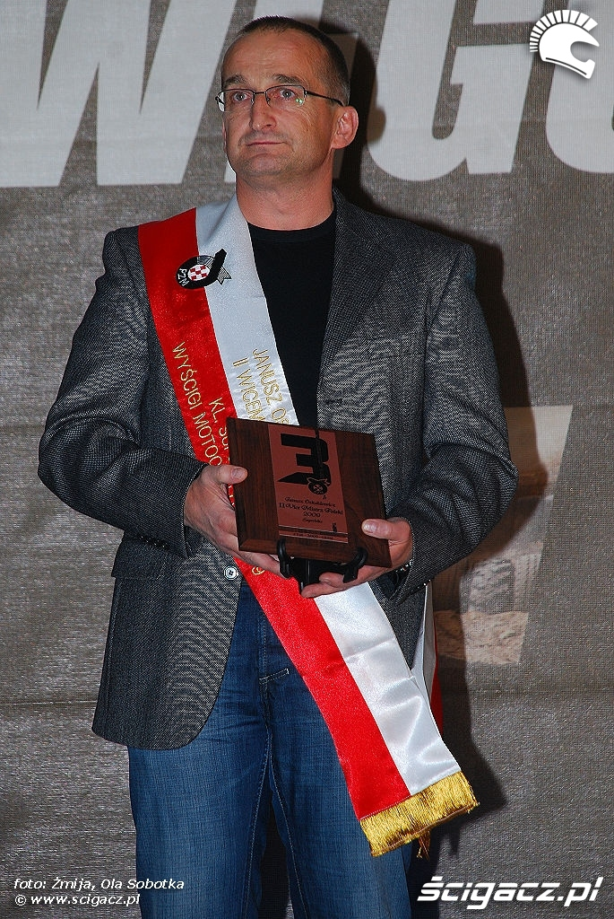 Janusz Oskaldowicz II Wicemistrz Polski 2009 Superbike