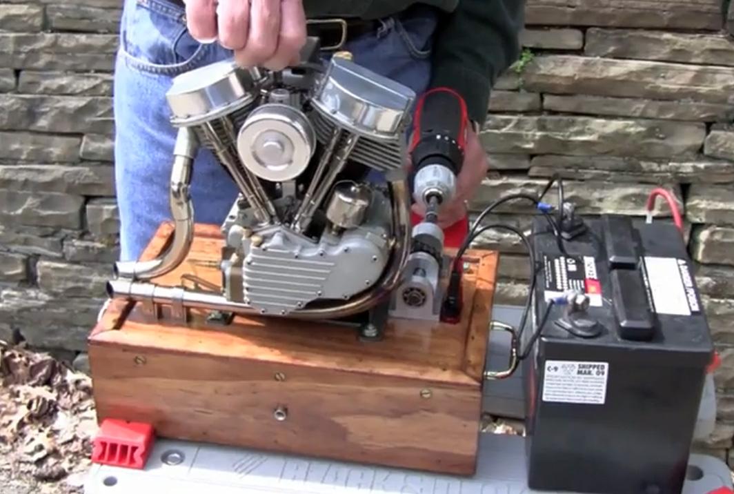 Бензиновый мотор своими руками
