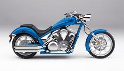 Honda Fury blue