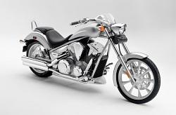 Honda Fury silver