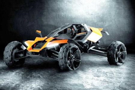 Zdjęcia: KTM AX buggy - KTM nowe projekty pojazdow