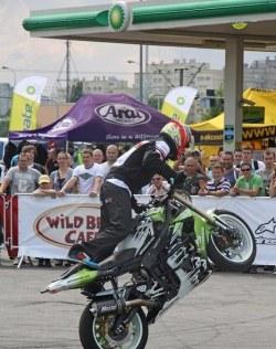 pokazy freestyle Motocyklowa Niedziela na BP wroclaw adrian pasek