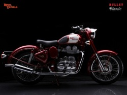 enfield bullet classic red