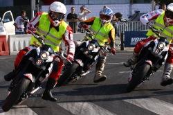 Wyscig motocyklistow Verva Street Racing Warszawa