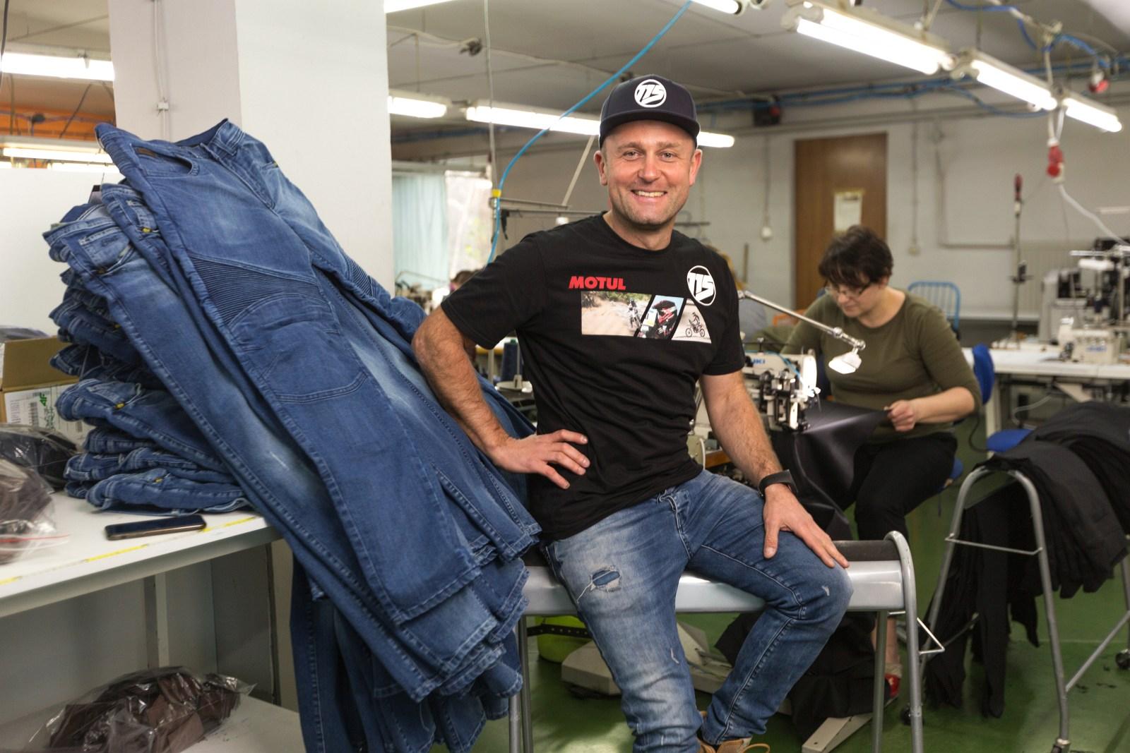 jeansy motocyklowe 115moto 6