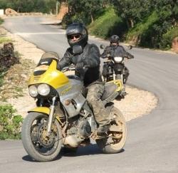 Yamaha TDM 850 brudas