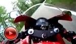 Honda CBR 600 RR w trasie