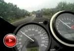 Kawasaki ZX6R jazda w trasie