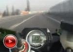 Kawasaki ZX6R w trasie