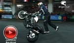 Chris Pfeiffer przejazd Streetbike Freestyle World Championship Zurich