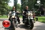 motorcycle suzuki intruder vs triumph rocket park