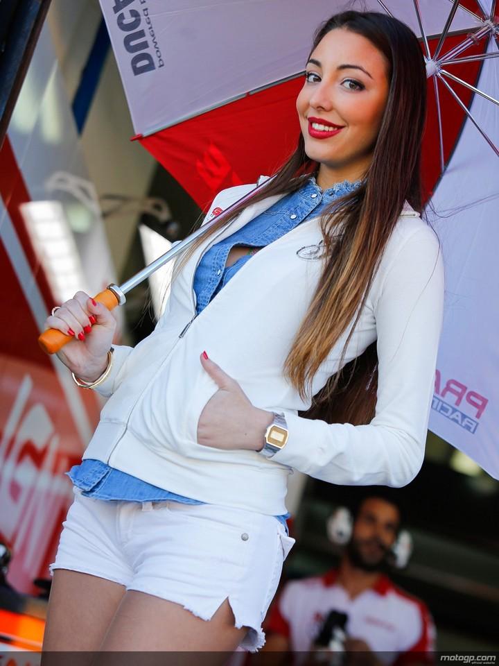 Ducati girl