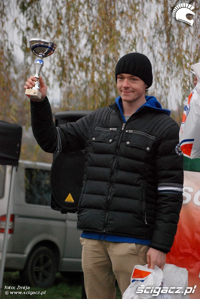 podium Kacper Kaminski miejsce 2 quady 2k