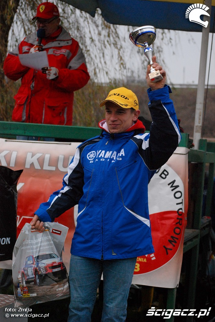 podium Lukadz Kedzierski miejsce 3 licencja A