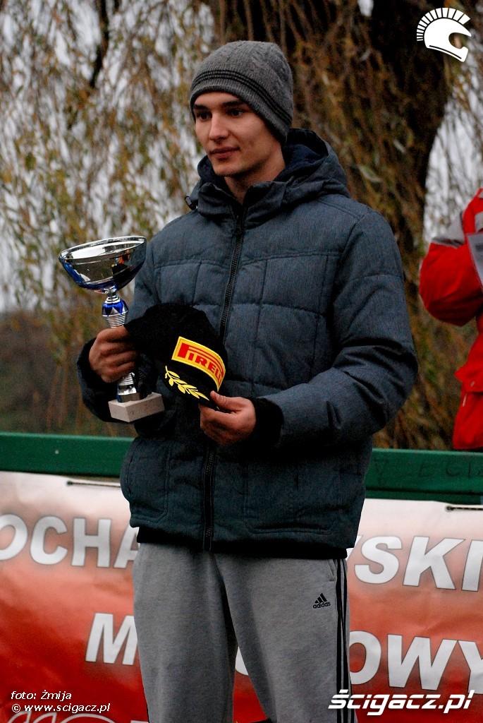 podium Patryk Chodniewicz miejsce 1 licencja C