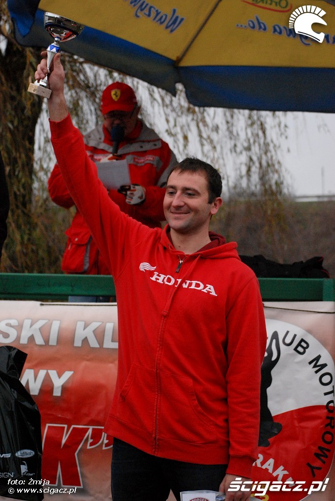 podium Wojciech Kusztala miejsce 3 licencja B