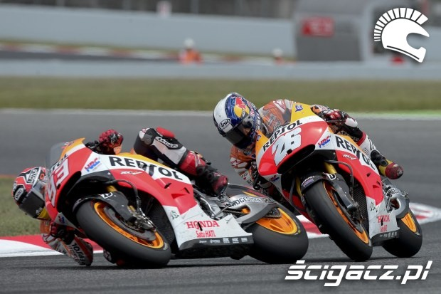 Marquez Pedrosa MotoGP Catalunya 2014
