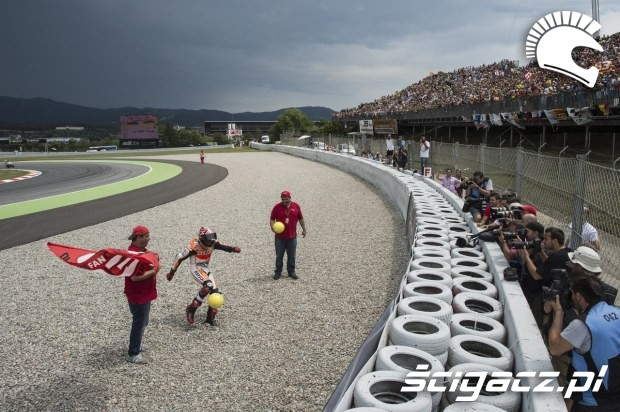 Pilka MotoGP Catalunya 2014