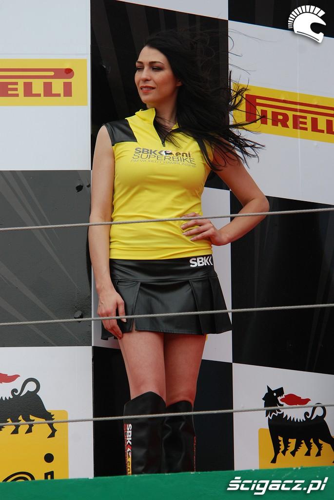 World Superbike dziewczyna