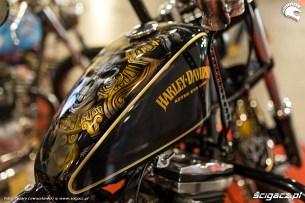 Wystawa motocykli i skuterow Moto Expo 2017 Harley Davidson aztec