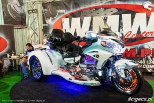 Wystawa motocykli i skuterow Moto Expo 2017 choinka