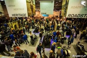 Wystawa motocykli i skuterow Moto Expo 2017 ludzie