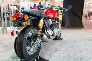 Wystawa motocykli i skuterow Moto Expo 2017 triumph od tylu