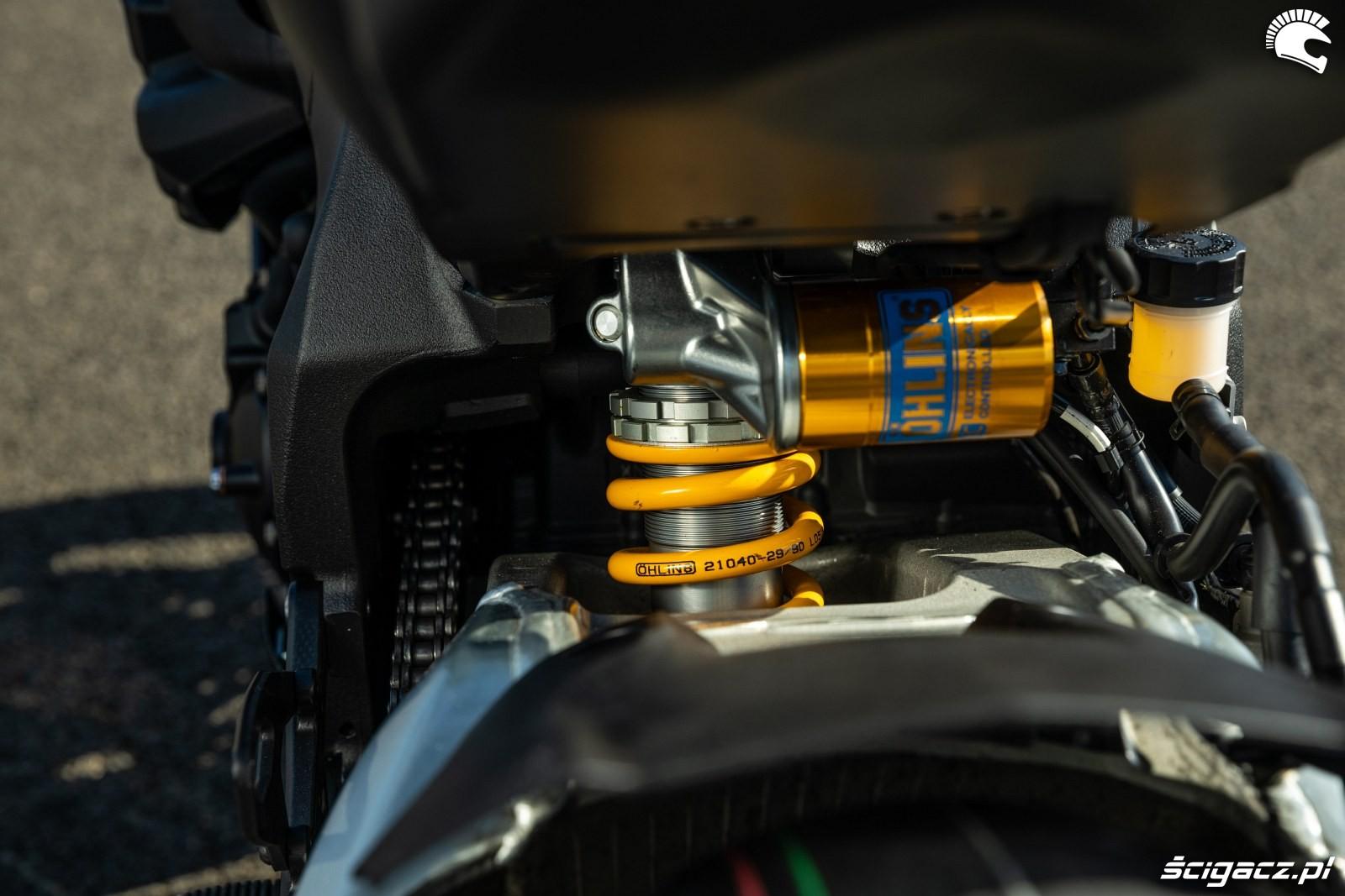 Yamaha R1 M 2020 zawias