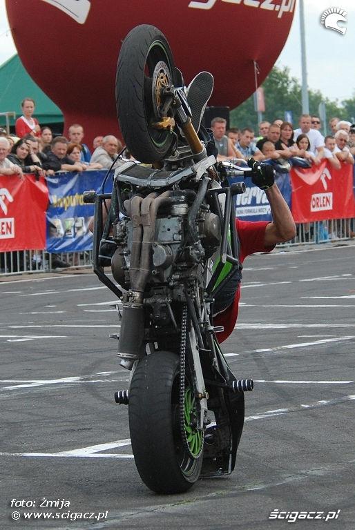 Bydgoszcz ewolucje na motocyklach