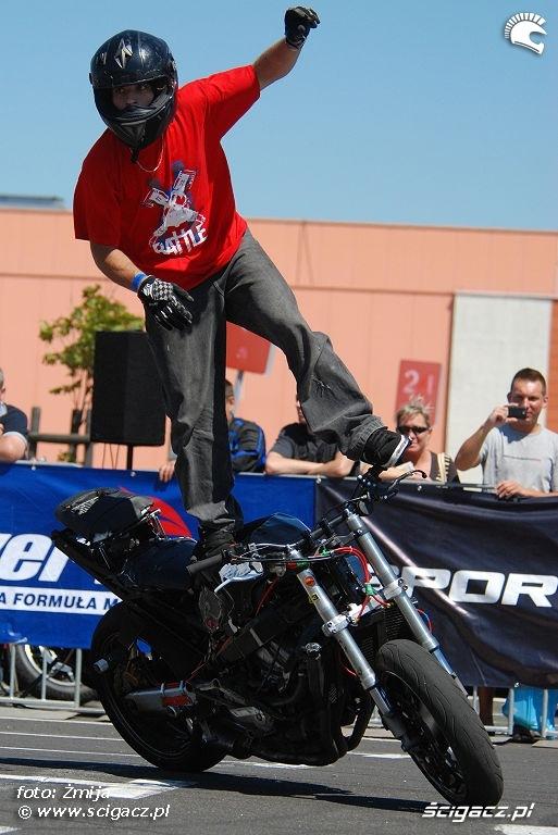 Romain Jeandrot zawody stunt