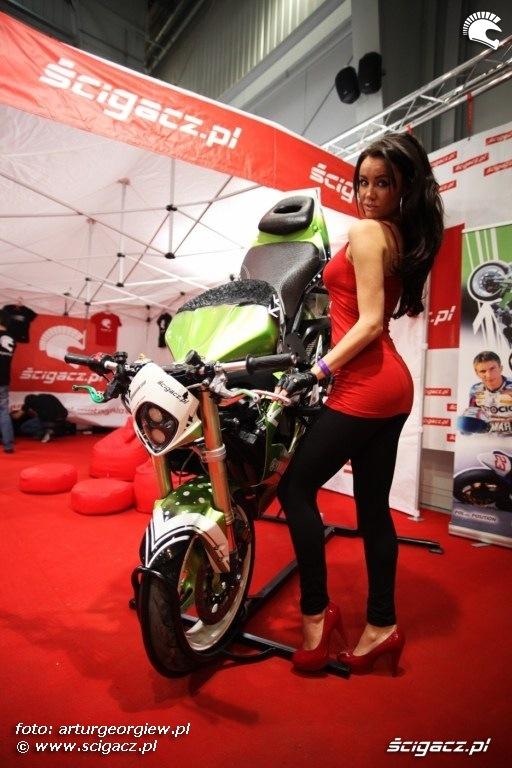 adrian pasek pasio motocykl Targi Motocyklowe w Warszawie - III Ogolnopolska Wystawa Motocykli i Skuterow 2011