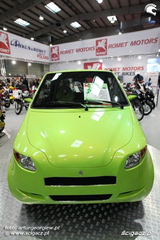 prototyp romet Targi Motocyklowe w Warszawie - III Ogolnopolska Wystawa Motocykli i Skuterow 2011
