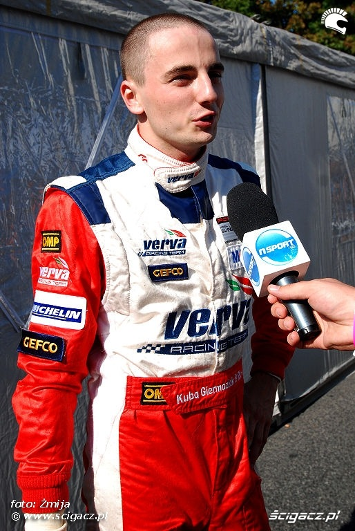Jakub Giermaziak Verva Racing Team