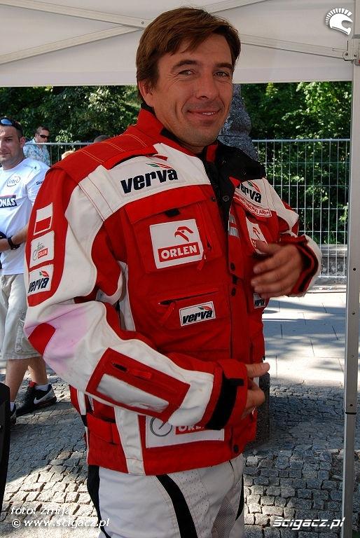 Marek Dabrowski Orlen Team wyscigi Warszawa