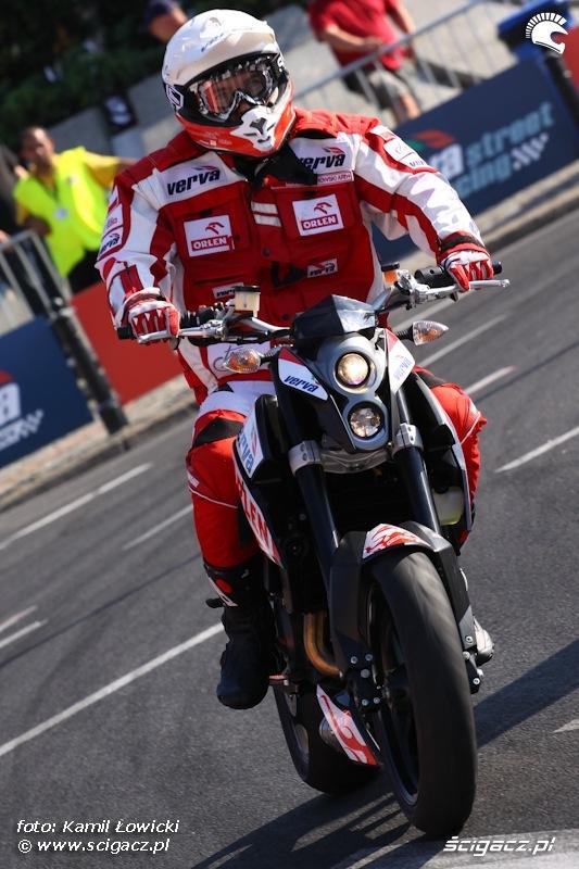 Marek Dabrowski Verva Street Racing