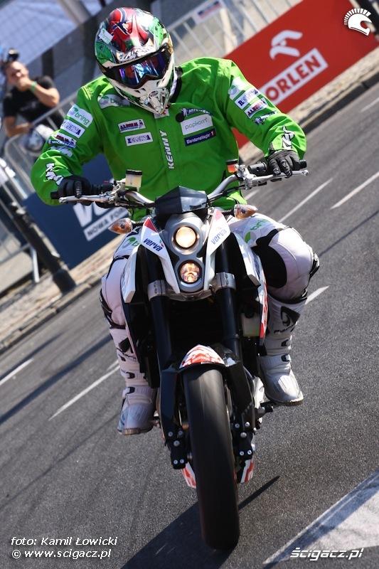 Motocyklista Verva Street Racing Warszawa