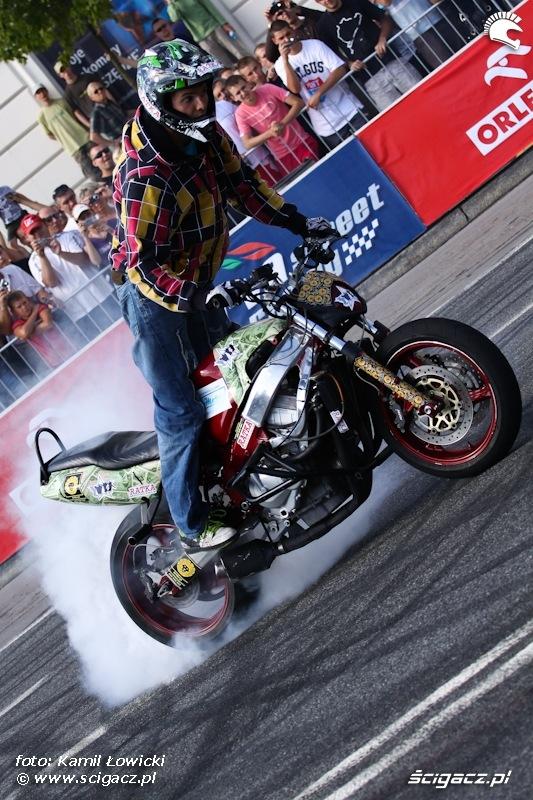 Verva Street Racing Warszawa burnout
