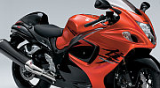 New Suzuki Hayabusa model 2008 red painting