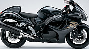 Suzuki Hayabusa model 2008 black painting