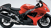 Suzuki Hayabusa model 2008 red painting