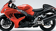 Suzuki Hayabusa model 2008 red painting2