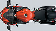 Suzuki Hayabusa model 2008 red painting up view