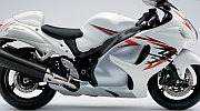 Suzuki Hayabusa model 2008 white painting