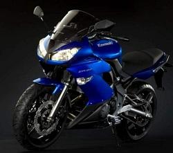 Kawasaki ER6 2009 blue